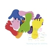 These fun, colourful foam hand and feet shapes are ideal for a wide range of crafty activities.  Great for adding finishing touches to pictures, greetings cards, collages and models.