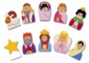 A lovely set of finger puppets featuring familiar characters from the Nativity.   Children can easily join in the telling of the Christmas story with these puppets and velcro makes them ideal for colourful displays.  Ages: 3+ Price:  �11.95 inc. VAT