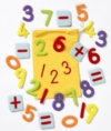 Versatile velcro backed number and operations motifs a brilliant teaching aid which can be displayed around the classroom or used for fun table top activities to encourage early maths skills.  Ages:  3+  Price:  £13.95 and £19.95