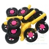 A great little set of chunky wheels and axles which are ideal for use with our wide range of Interstar construction pieces to create a wide range of mobile vehicles ~ just add imagination.   Ages:  3+   Price:   £17.95 inc. VAT