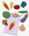 A set of realistically detailed felt motifs depicting a range of familiar vegetables.  Excellent for class discussion, table top activities and colourful displays   Ages:  3+  Price: £12.95 small  & £18.95 Large inc. VAT