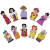 A colourful range of realistically detailed finger puppets showing people from around the world dressed in their national costumes.  Puppets have velcro on the reverse for display purposes.  Ages:  3+  Price:  £12.95 inc. VAT