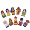A colourful range of realistically detailed finger puppets showing people from around the world dressed in their national costumes.  Velcro pads on the reverse make them ideal for displays.  Ages:  3+   Price:  £12.95 inc. VAT