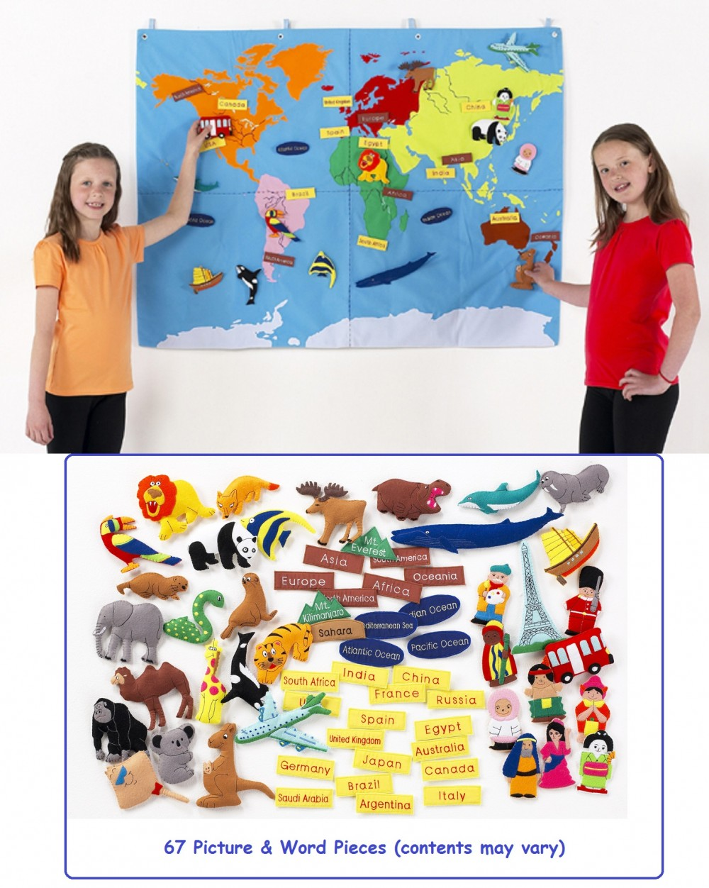 World map fabric wall hanging gumiabroncs Images
