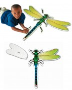 This giant soft foam floor puzzle illstustrates the five main parts of an insects body which form a fabulous dragonfly.  Each puzzle piece is clearly labelled with the name of the body part.   Ages:  3+   Price:  £21.95 inc. VAT
