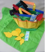A colourful and practical storage stand which comes complete with a set of three handy tools especially made for small hands, encourage your young gardener with this versatile set.   Ages:  3+  Price:  £8.95 inc. VAT