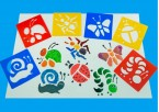 Fabulous for minibeast topics these washable stencils are ideal for a range of creative activities.  Designed to suit different abilities these stencils are great for displays and pictures.   Ages:  3+   Price:  £2.95 inc. VAT