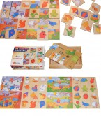 A beautifully crafted traditional memo game depicting the four seasons making it an ideal resource for the classroom to support popular early years topics about seasons and weather. Ages: 4 years+ Price: £11.50 inc VAT