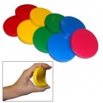 1 gymnic 18cm flexible vinyl gym ring throwing & catching float for pool games