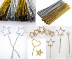 A brilliant pack of holographic shapes with a festive Christmas theme.  The silver and gold shapes can be used for a wide range of creative crafts from card making to Xmas mobiles.  Ages:  3+  Price:  £2.95 inc. VAT