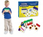 inside answers ~ alphabet ~ interactive self checking cards