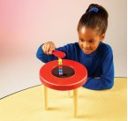 Children will be fascinated by this sturdy tabletop magnetism station which comes complete with a range of accessories which allow children to examine magnetic forces - great fun!