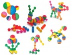 These vibrantly coloured, chunky interlocking rings are a brilliant first construction set for young children.  Available in sets from 18 to 95 pieces these are ideal for young children.   Ages:  6M+  Price From:  £9.95 inc VAT to £39.50 inc. VAT