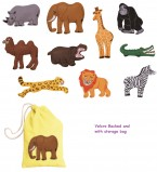 This set of felt motifs available in small and large features a wide variety of animals likely to be spotted at the zoo.  Ideal for use with our range of teaching boards and backcloths.  Ages:  3+  Price:  £12.95 and £18.95 inc. VAT